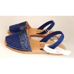 Sandale Avarca Glitter Blue Ante 6348
