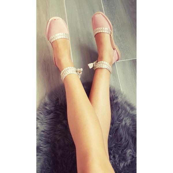 Sandale Avarca Nojite Rose Quartz