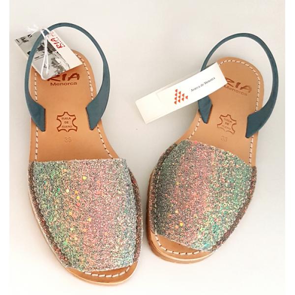 Sandale Avarca Glitter Windy Glicine Verde
