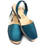 Sandale Avarca Metalgrain Zafiro blue