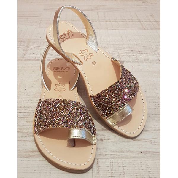 Sandale Avarca Glitter Decupat Special deget
