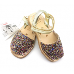 Sandale Avarca Glitter c9a Multicolor Kids