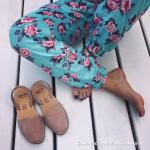 Sandale Avarca Rose Quartz ante rosa