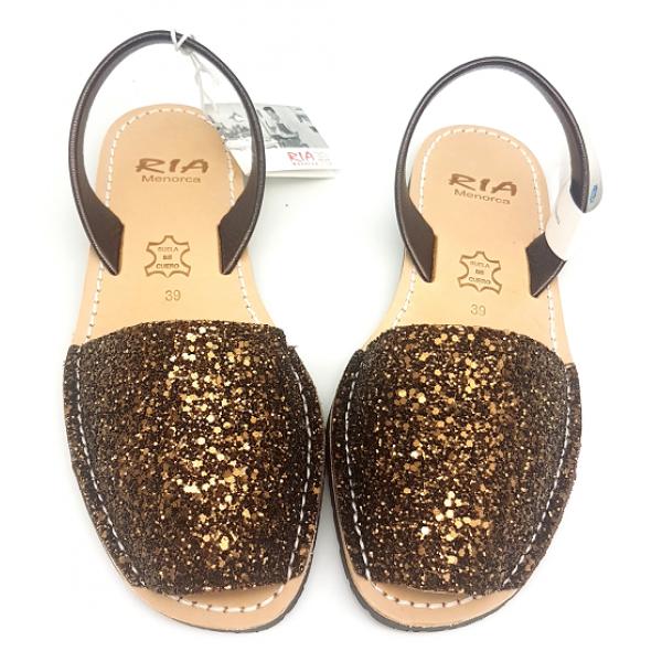 Sandale Avarca Glitter Cobalto