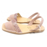 Sandale Avarca  Ante Rosa Decupat cu glitter