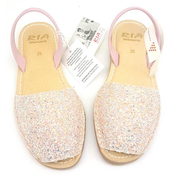 Sandale Avarca Glitter Windy Pink Multi Confort