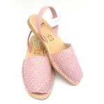 Sandale Avarca Impletite Trenzado Lavanda