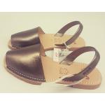 Sandale Avarca Metalizado Plata Vieja
