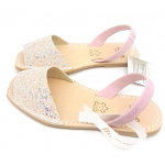 Sandale Avarca Glitter Windy Pink Decupat